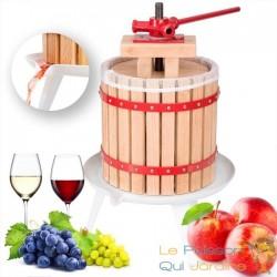 Presse fruits en bois 12 litres