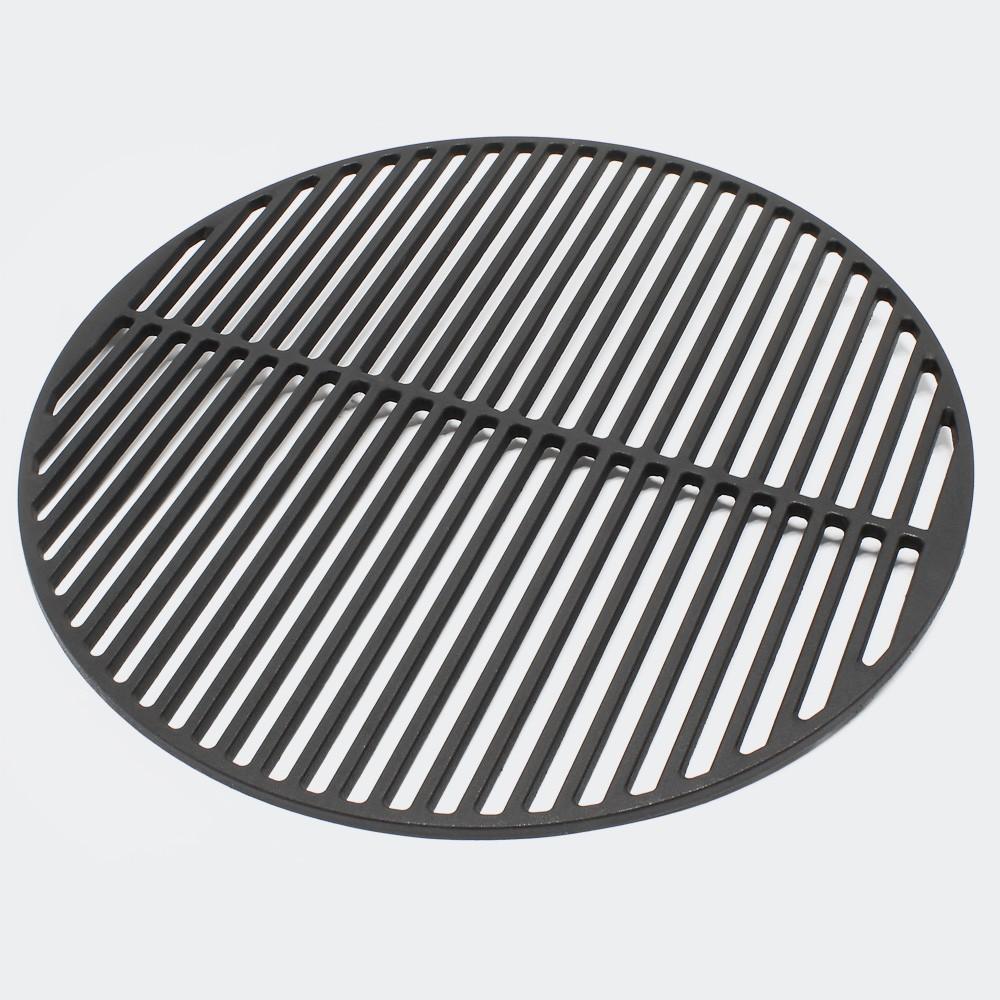 Grille de Barbecue De Remplacement Ronde en Fonte Diamètre 45 cm