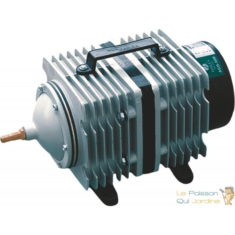 Compresseur pompe air 3600 l h pour bassins de jardin for Pompe a air pour bassin exterieur