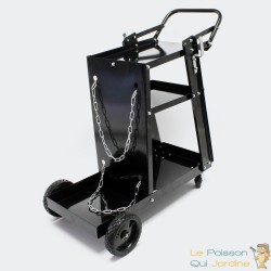Chariot de transport d'outillages d'atelier