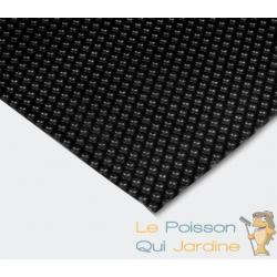 Bâche De Piscine Rectangulaire À Effet Isolant - Noire - 4 x 6 m