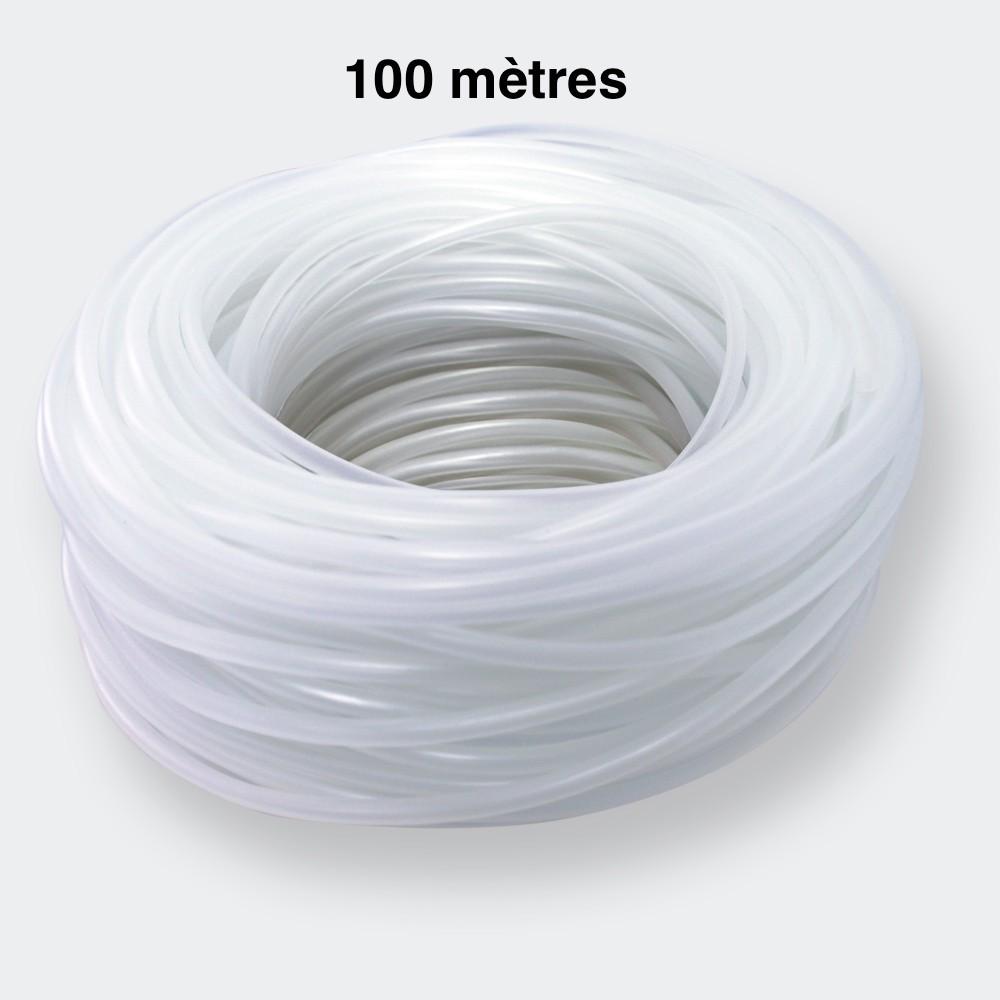 100 mètres de tuyau 4/6 mm pour pompe à air aquarium et bassin