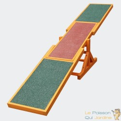 Module d'entrainement agility pour chiens : Bascule de 180 cm