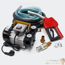 Pompe à gasoil 50l/m 550W 230V avec compteur et pistolet