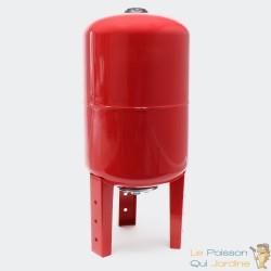 Ballon vertical ou cuve à vessie pour installations sanitaires : 50 litres