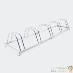 Rangement - râtelier 5 vélos avec fixation au sol - Rack 1 niveau - 030180