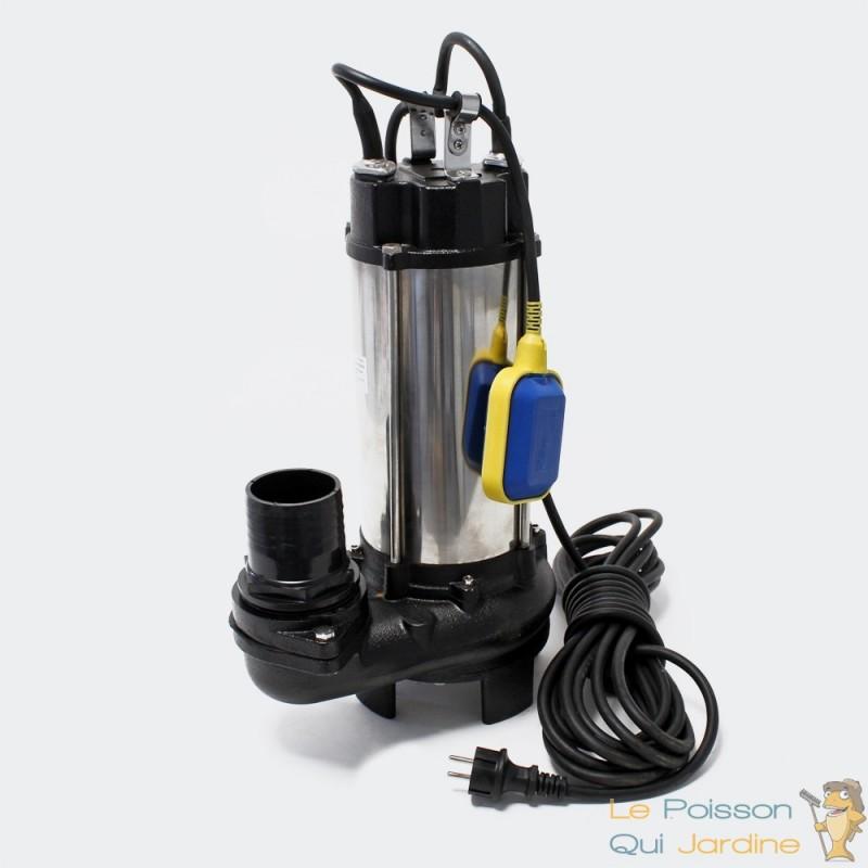 pompe de refoulement d 39 eaux sales ou vide caves 31200 l h le poisson qui jardine