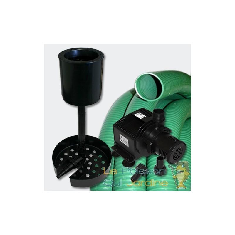 kit cumeur bassin 50 m3 et piscine avec pompe et tuyau le poisson qui jardine. Black Bedroom Furniture Sets. Home Design Ideas