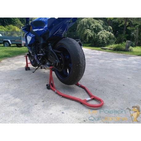 Béquille arrière pour toutes motos