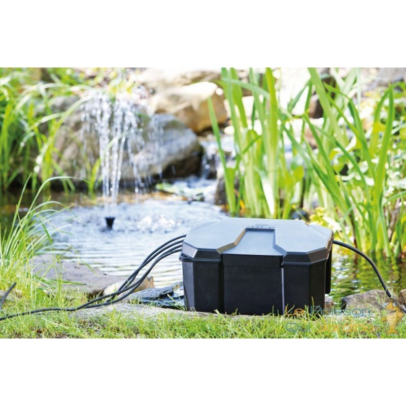 Bo te de protection prises pour bassins de jardin le - Protection bassin de jardin ...