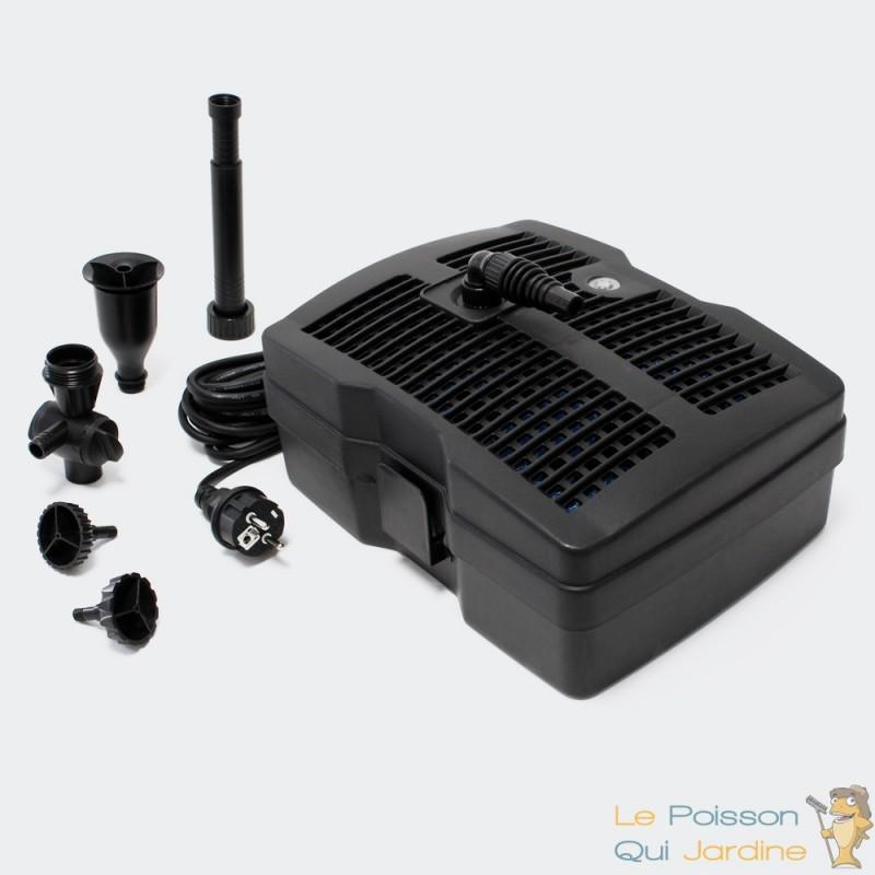 Pompe filtre jets uv pour bassin de jardin jusqu 39 for Pompe uv pour bassin