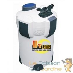 Filtre Externe 1400 l/h avec UV 9W pour aquariums