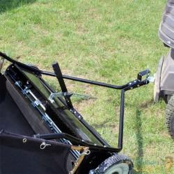 Remorque Ramasse feuilles 120 cm pour tondeuse autoporté - 051702
