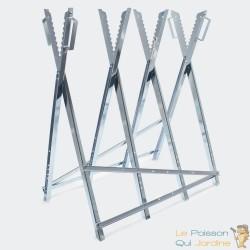 Chevalet de sciage pour bûches.  4 pieds - Stable - 030293