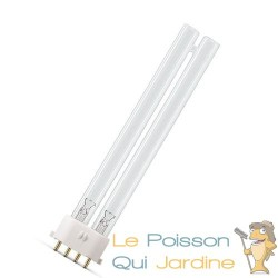 Ampoule UVC 36 Watts 4 pins pour aquarium et bassin de jardin