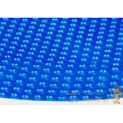 Bâche De Piscine Ronde À Effet Isolant - Bleue - Diamètre 5 m