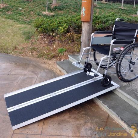 Rampe D'Escaliers Pour Fauteuil Roulant, Quad Et Autre 213.5 cm 270 kg
