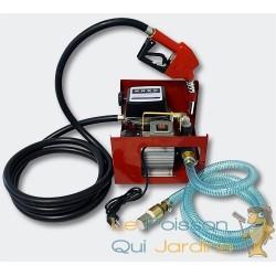 Pompe à gasoil 60l/m 550W avec compteur et pistolet