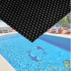 Bâche de piscine Rectangulaire à Effet Isolant - Noire - 5 x 8 m