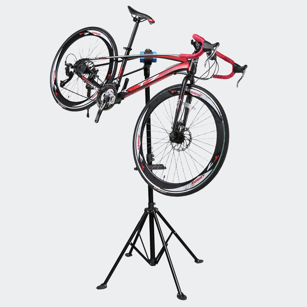 Pied d'Atelier De Réparation Pour Vélos, Hauteur Réglable, Pivotant