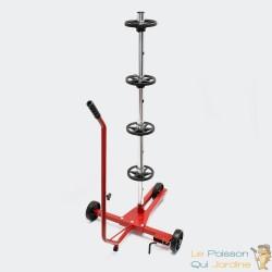 Support de Rangement Mobile pour Pneus et Jantes - Charge 100kg max