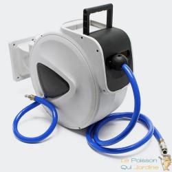 Dévidoir Portable Tuyau Pneumatique18 mm 15 mètres