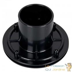 Connecteur bâche - passe paroi PVC 50 mm pour bassin de jardin et étang
