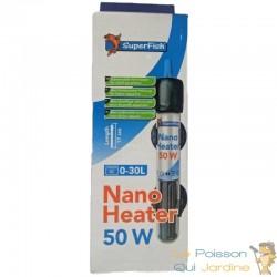 Chauffage thermostat 50W pour nanos : Superfish mini heater