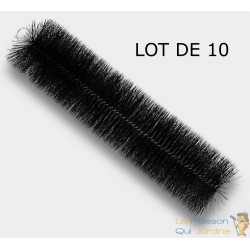 10 Brosses De Filtration 50 cm Pour Filtre De Bassins De Jardin