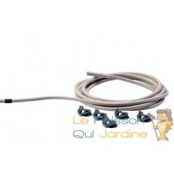 Câble chauffant Eden 15 W pour aquarium et terrarium