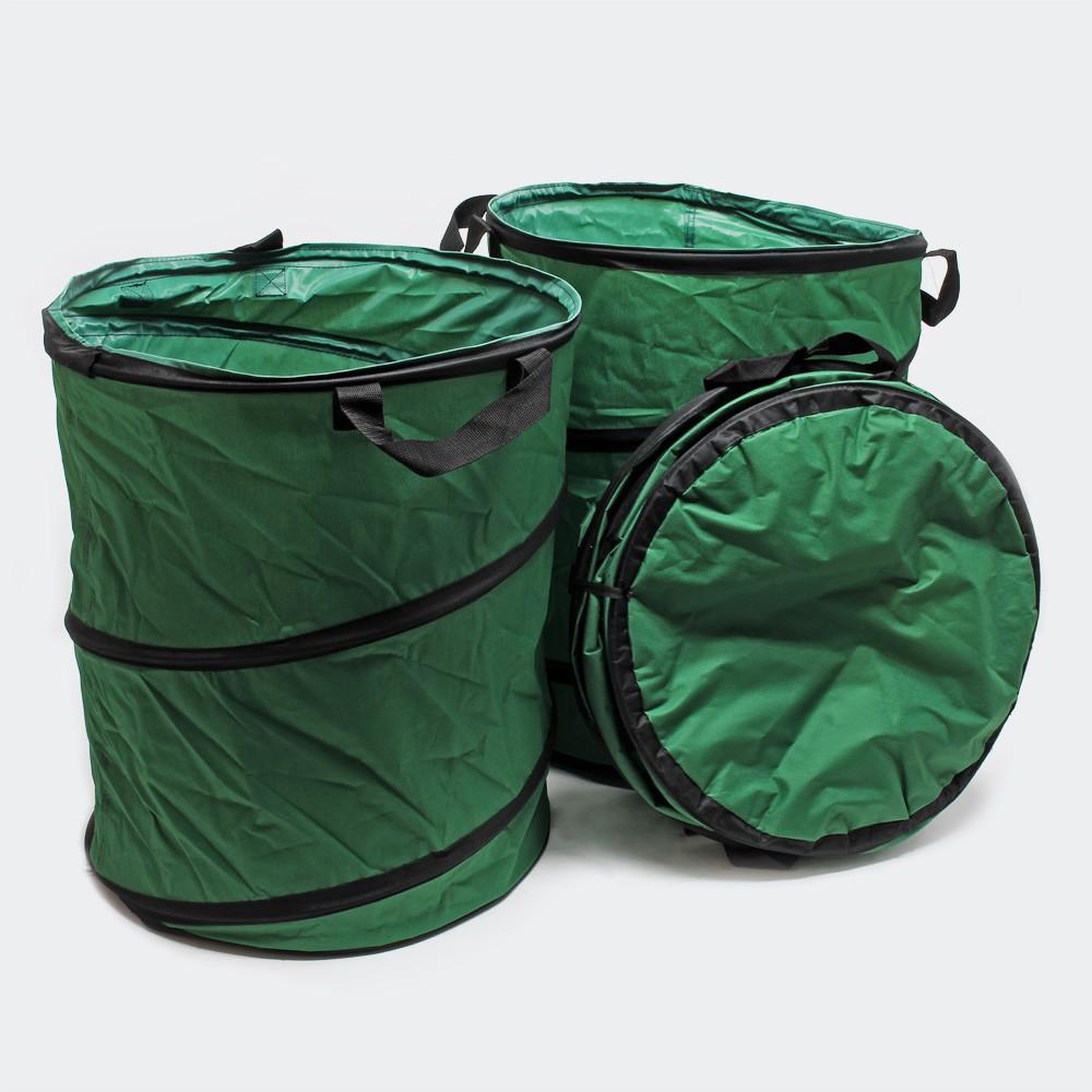 3 Sacs Pour Déchets Verts, Herbe, Détritus. 100 l par sac. Repliables