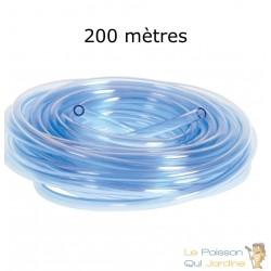 200 mètres de tuyau pour pompe à air d'aquarium ou pour bassin de jardin