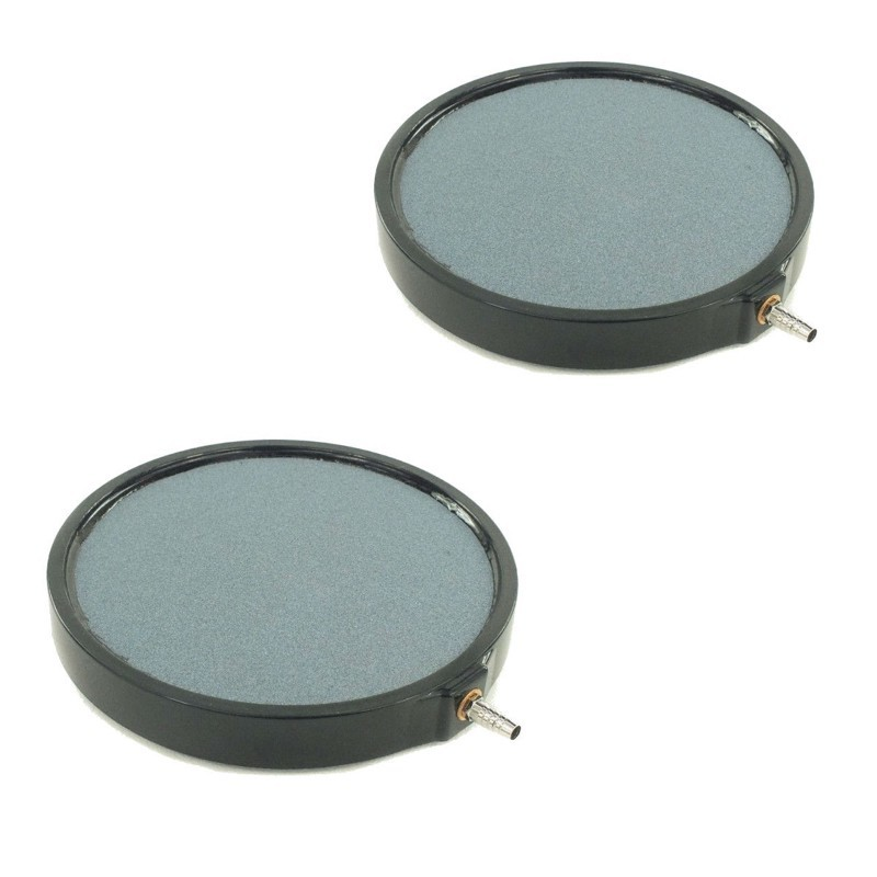 Lot de 2 diffuseurs d'air plaque ronde 20 cm pour bassins de jardin