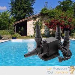Pompe piscine de 6000 l/h - 40 W avec pré filtre de protection