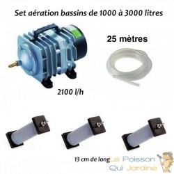 Set aération N3 bassin de jardin de 1000 à 3000 litres