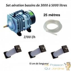 Set aération N3 bassin de jardin de 3000 à 5000 litres