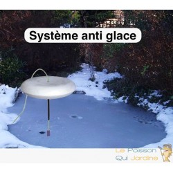 Système anti gel complet pour bassins de jardin avec pompe fournie