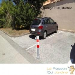 Barrière Bloque Parking Et De Stationnement. 70 cm De Hauteur