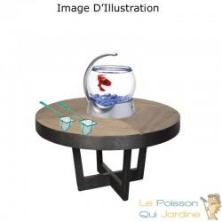 Epuisette De 7,5 cm, Pour Aquarium, Eau Douce Et Eau De Mer