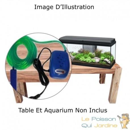 Pack Aération 100, Pour Aquariums, Jusqu'à 100 Litres, Kit Complet