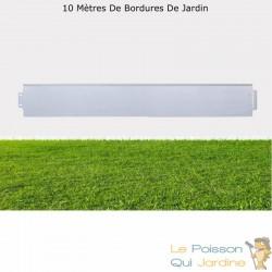 Bordures De Jardin, En Métal, À Clipser, Longueur De 10 Mètres.