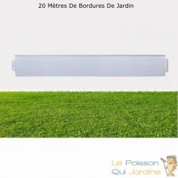 Bordures De Jardin, En Métal, À Clipser, Longueur De 20 Mètres.