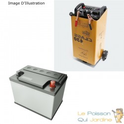 Chargeur de batterie auto moto rapide 12-24V 50-750 Ampères