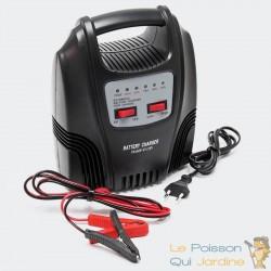 Chargeur 10A De Batterie Rapide Pour Batteries 6V Et 12V