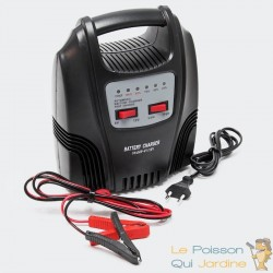 Chargeur 10A De Batterie Rapide Pour Batteries 12V Et 24V