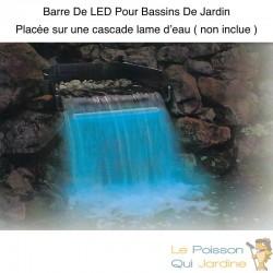 Barre LED 30 cm Pour Bassins Et Cascades De Jardin. Éclairage Étanche
