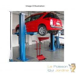 Récupérateur d'huile de vidange mobile Chariot de récupération d'huile