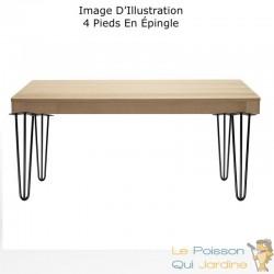 4 Pieds De Tables De 30 cm De Hauteur. Look et design loft
