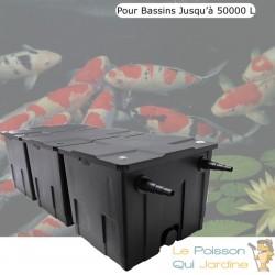 Filtre bassins de jardin et étangs jusqu'à 50000 litres