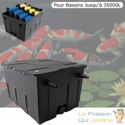 Filtre Bassins De Jardin Et Étangs jusqu'à 35000 Litres